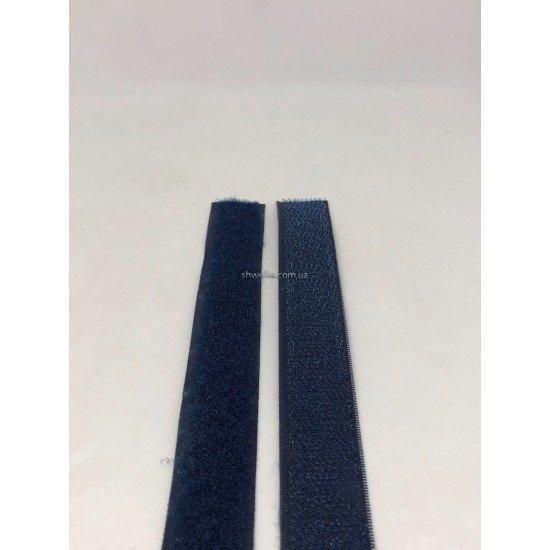 Липучка 2 см темно-синяя 25 м